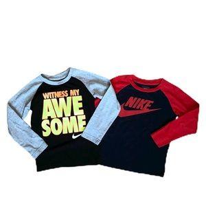 Nike Cotton Long Sleeve Bundle